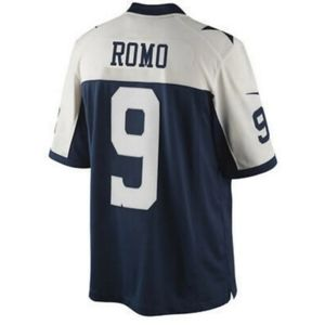 Vintage NFL Reebok Dallas Cowboys Tony Romo Jersey